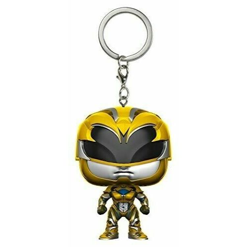 POP! Funko Power Rangers mini pop figura kulcstartó Yellow Ranger 4 cm