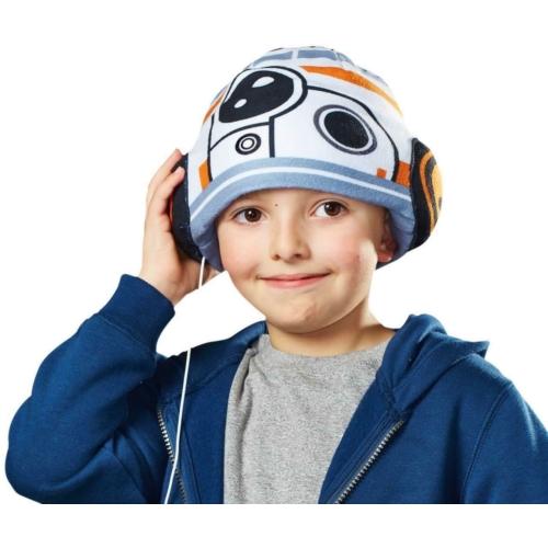 Star Wars BB-8 - Csillagok háborúja gyerek sapka füllhallgatóval