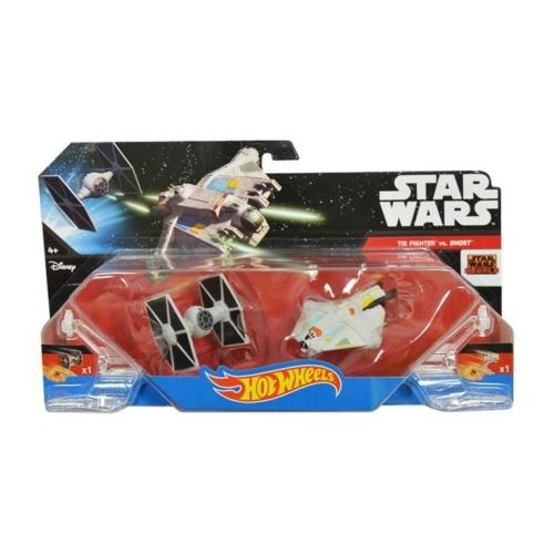 STAR WARS Hot Wheels Tie Fighter vs Ghost - Csillagok háborúja