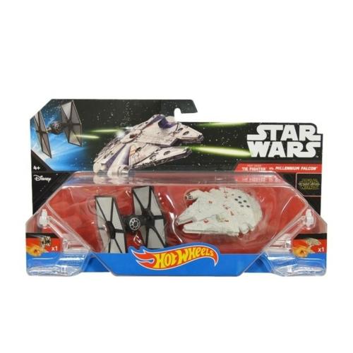 Hot Wheels Star Wars First Order Tie Fighter vs Millenium Falcon - Csillagok háborúja