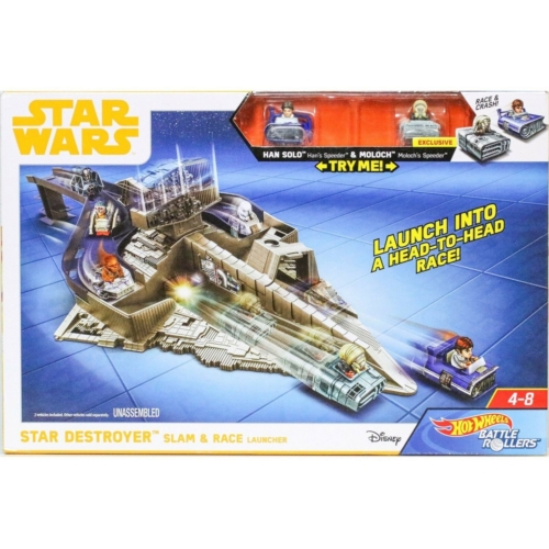 STAR WARS Hot Wheels Star Destroyer Slam&Race - Csillagok háborúja
