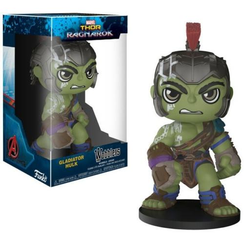 Funko Wacky Wobblers Thor Ragnarok Bobble-Head Gladiátor Hulk bólogató figura 15 cm