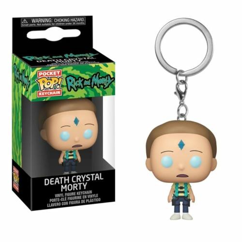 Rick and Morty Death Crystal Morty Pocket POP kulcstartó figura 4 cm