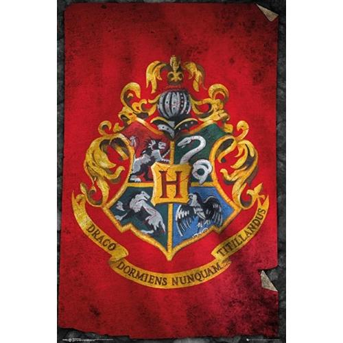Harry Potter Hogwarts Flag - Roxfort FP3955 poszter