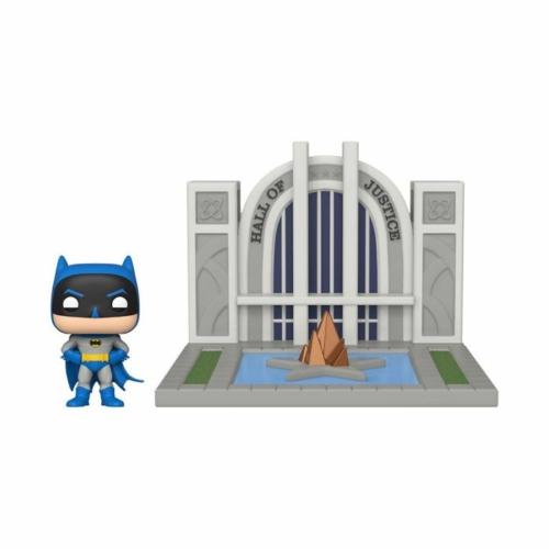 DC Comics - Batman with the Hall of Justice POP Vinyl figura
