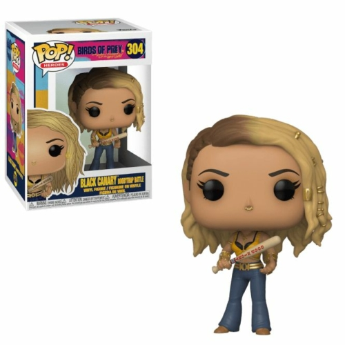 DC Comics - Birds of Prey - Ragadozó madarak - Black Canary POP Vinyl figura