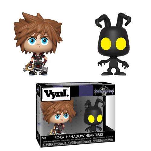 FUNKO Vynil Disney Kingdom Hearts Sora+Shadow Heartless dupla figura szett 13 cm