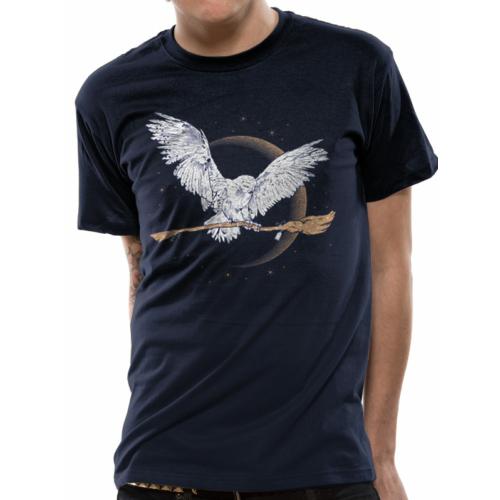 Harry Potter - Hedwig Broom póló L