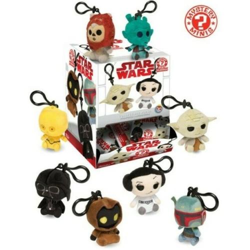 Funko Star Wars Mystery Mini - Csillagok háborúja plüss kulcstartó
