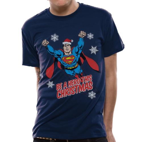 DC Comics - Superman Christmas Hero póló