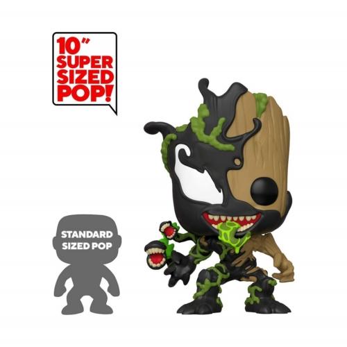 Funko Marvel Spiderman Maximum Venom nagyméretű Venomized Groot 25 cm POP Vinyl figura (613)