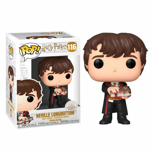 POP!  Movies HARRY POTTER Neville w/Monster Book figura 9 cm (116)