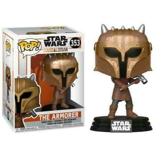 Star Wars The Mandalorian - The Armorer Pop figura (353)