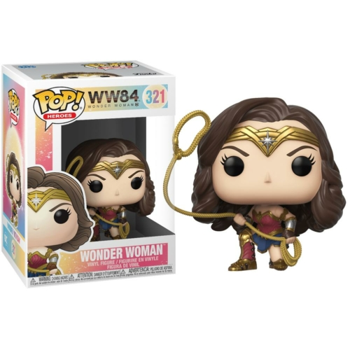 PoP! Movies Wonder Woman WW84 Pop figura 9 cm