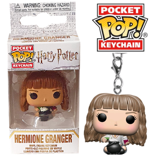 Harry Potter - Hermione Granger pocket pop kulcstartó figura