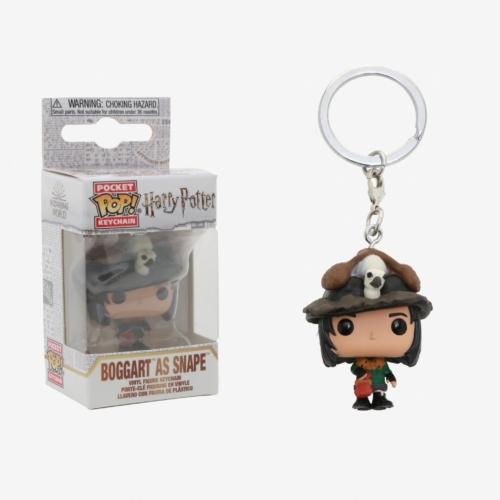 POP!  HARRY POTTER Boggart Snape Pocket Pop kulcstartó figura 4 cm