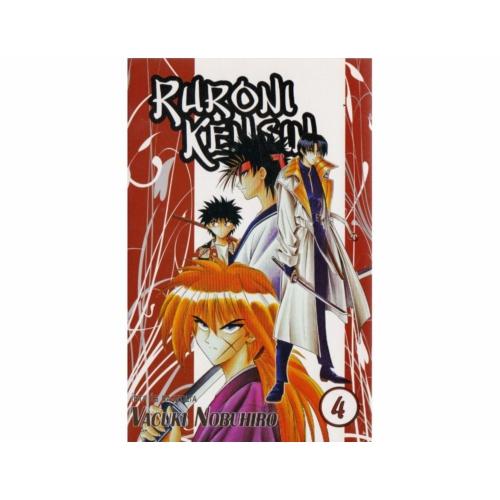 Ruroni Kenshin manga 4