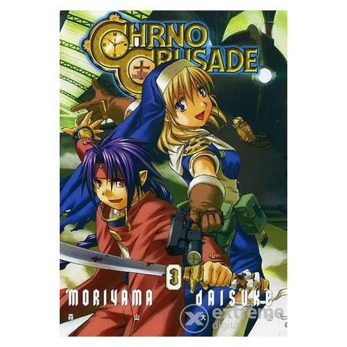 Chrno Crusade manga 3