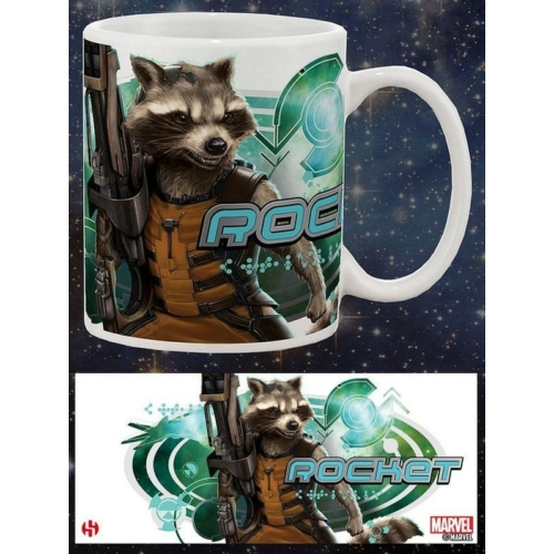 Guardians of the Galaxy - A galaxis őrzői Rocket Raccoon bögre