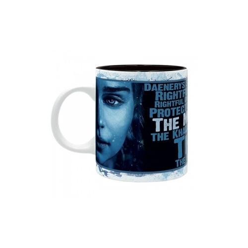 Game of Thrones - Trónok Harca - Daenerys Khaleesi bögre