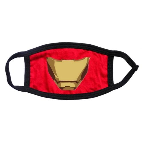 Iron Man - Vasember páncél arc maszk S