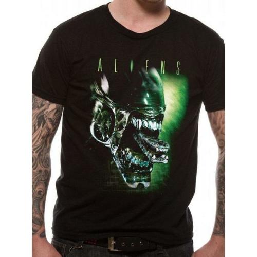 ALIENS - Alien head A bolygó neve: Halál póló S