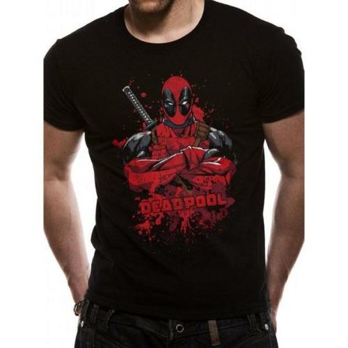 Deadpool Pose splash póló