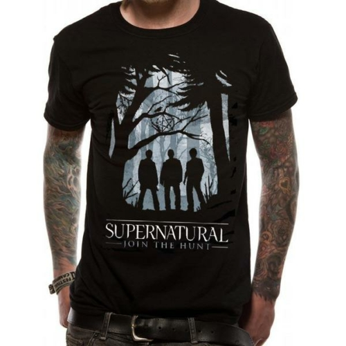 Supernatural -Odaát Outline póló