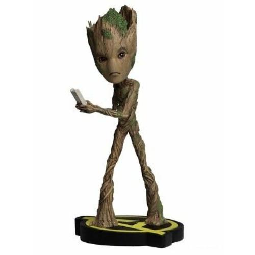 MARVEL Avengers Infinity War Groot headknocker bólogató figura 20 cm
