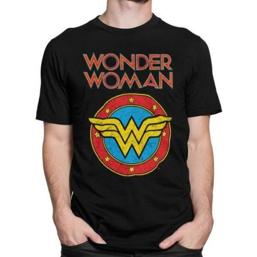 Wonder Woman vintage logo classic póló
