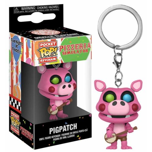 poP! Five Nights at Freddy's Pigpatch Pocket POP kulcstartó figura 4 cm