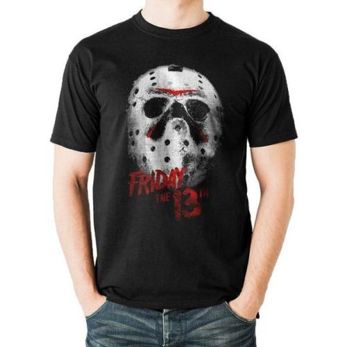 Friday the 13th - péntek 13 - Jason mask póló L