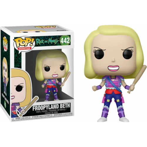 Rick and Morty - Froopyland Beth POP Vinyl figura