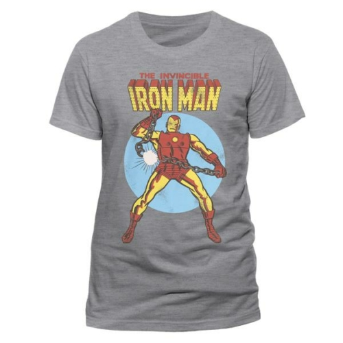 Marvel Comics - The invincible Iron Man Vasember póló
