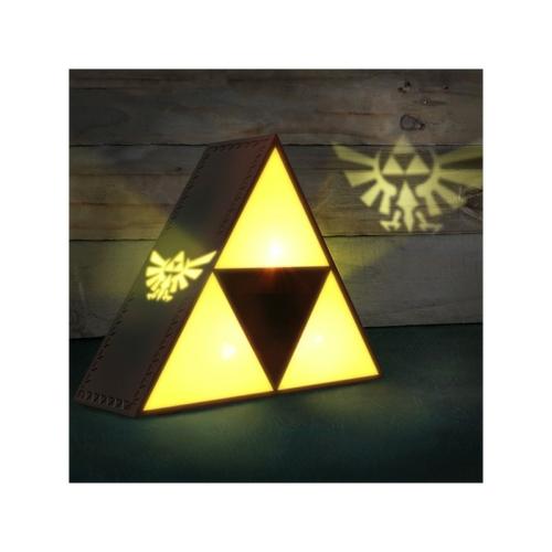 The Legend of Zelda Triforce lámpa 20 x 20 x 6 cm