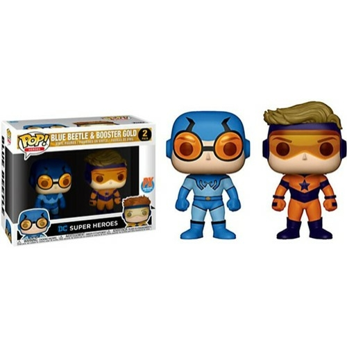DC Comics Blue Beetle & Booster pop figura