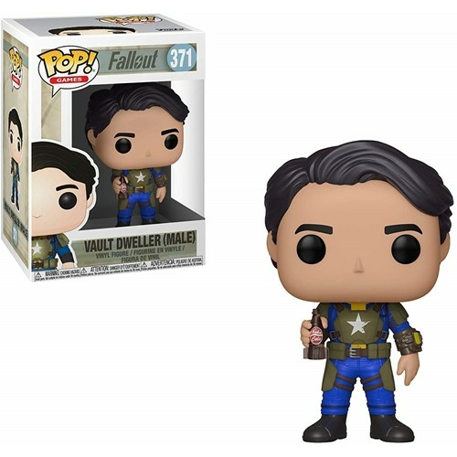 PoP! Games Fallout Vault Dweller male POP figura 9 cm