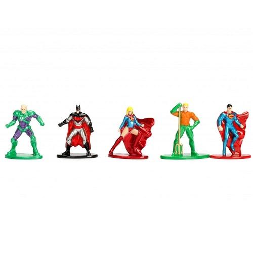 DC Comics Nano metalfigs mini fém (die cast) figura készlet 3 cm/figura