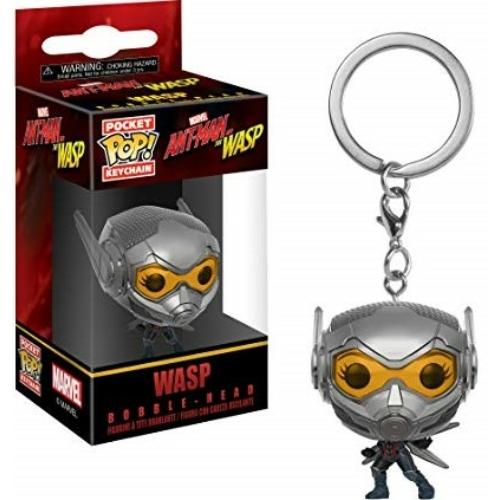 MARVEL PoP! Ant-man A Hangya The Wasp A Darázs POP figurás kulcstartó