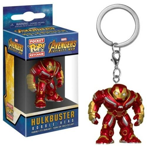 PoP! Marvel Avengers Hulkbuster POP figurás kulcstartó 4 cm