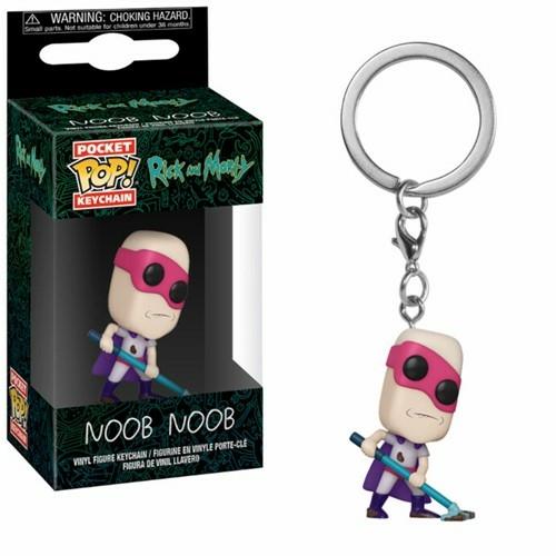 Rick and Morty - Noob Noob PoP figurás kulcstartó