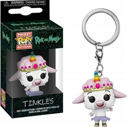 Rick and Morty - Tinkles PoP figurás kulcstartó