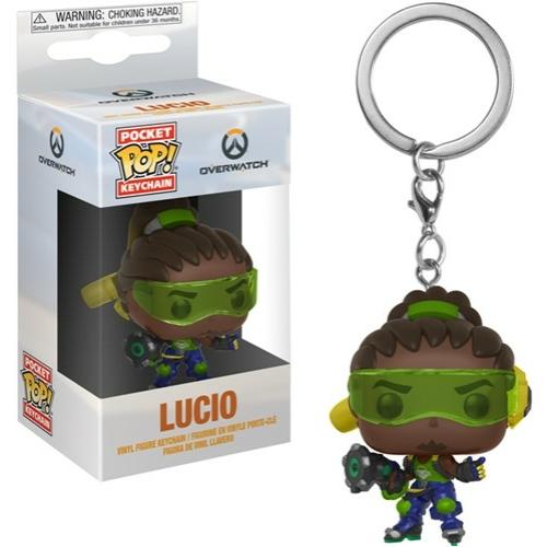 Overwatch Lucio POP figurás kulcstartó 4 cm