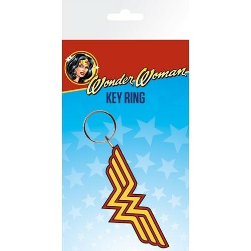 DC Comics - Wonder Woman logo PVC kulcstartó