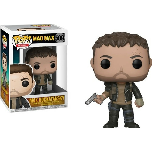 POP!  Mad Max Fury Road Max with gun POP figura
