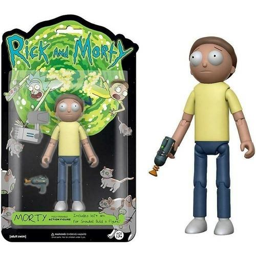 Funko Rick and Morty - Morty mozgatható akciófigura 15 cm