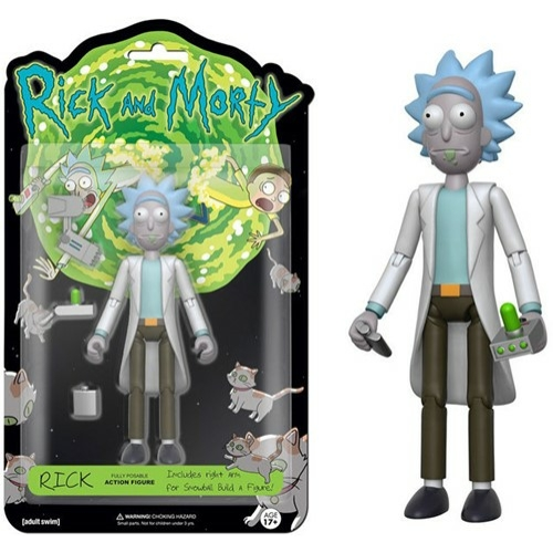 FUNKO Rick and Morty - Rick mozgatható akciófigura 15 cm