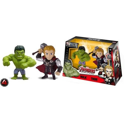 Marvel metals Die-cast Thor és Hulk figura