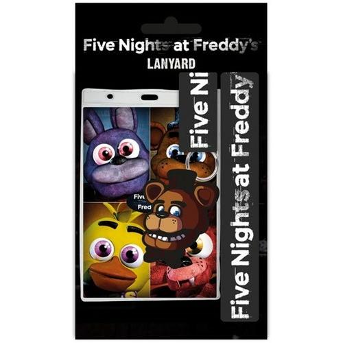FNAF Five Night's at Freddys - Fazbear kártyatartó nyakpánttal