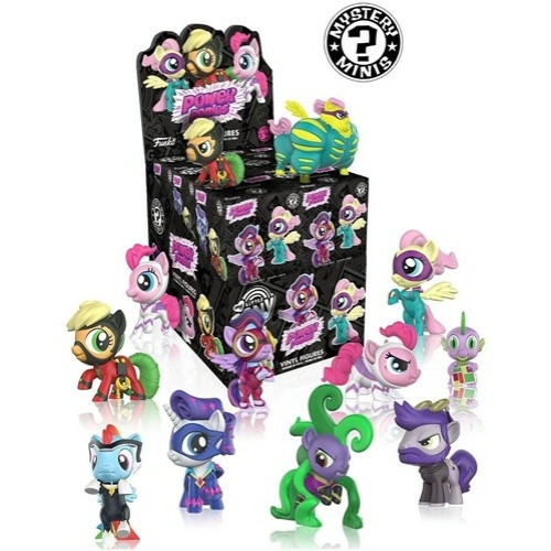 My Little Pony Power Ponies - Én Kicsi Pónim Mystery Mini figura